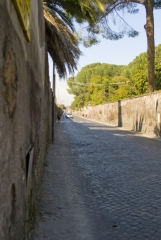Via Appia Antica - ahol meg szeles!